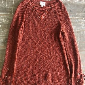 Hippie Rose Knit Sweater